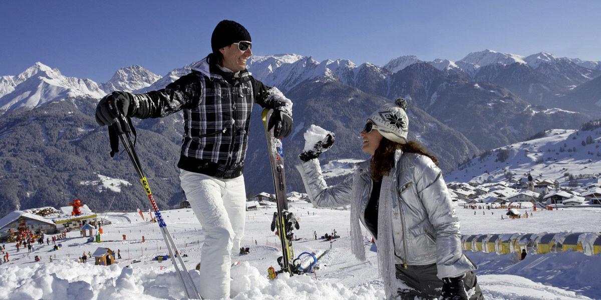 Skifahren, Snowboarden und viele weitere sportliche Aktivitäten auch im Winter in Serfaus.