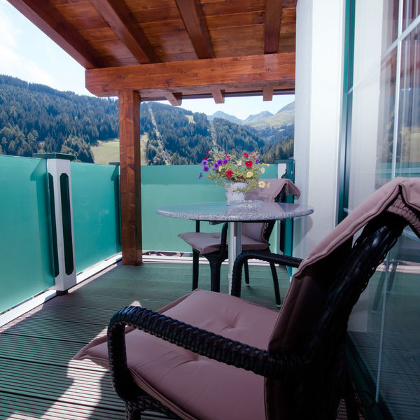 Balkon der Juniorsuite