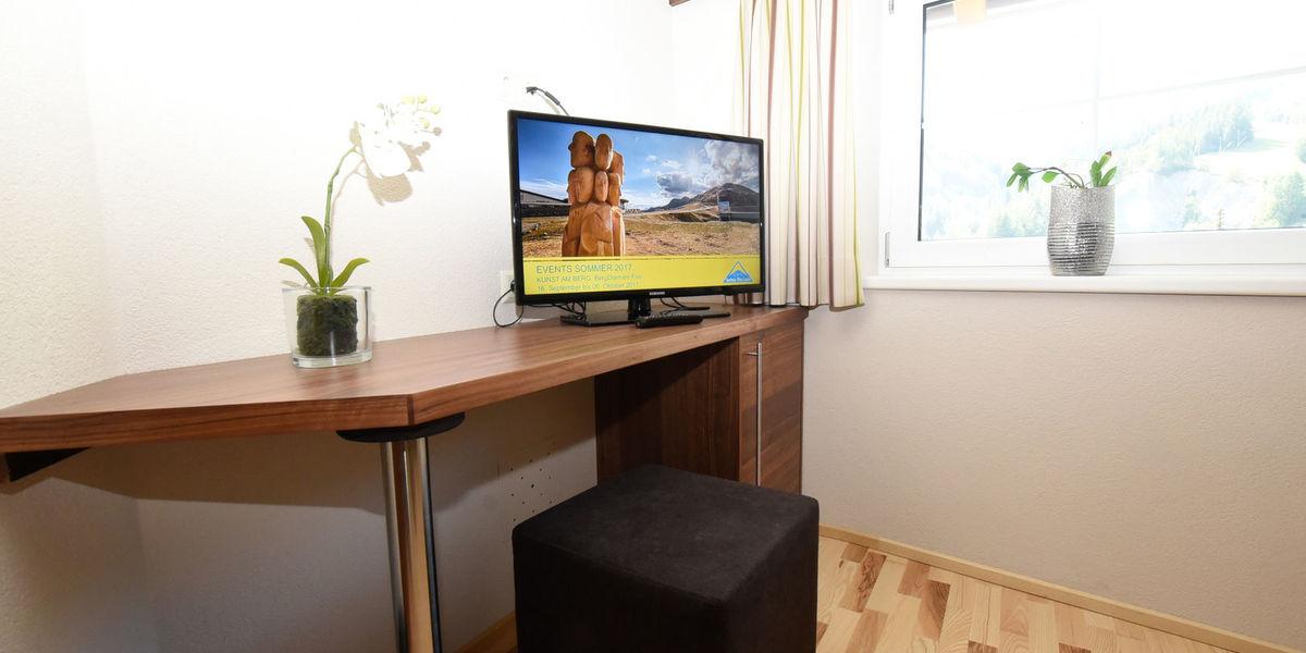 TV corner in the Juniorsuite