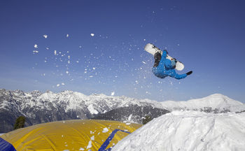 Top snow park for high-flyers