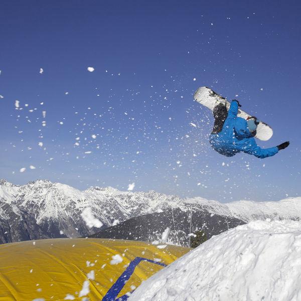 Snowboarden, Skifahren Rodeln - Jennys Schlössl - Seilbahnnähe in Serfaus