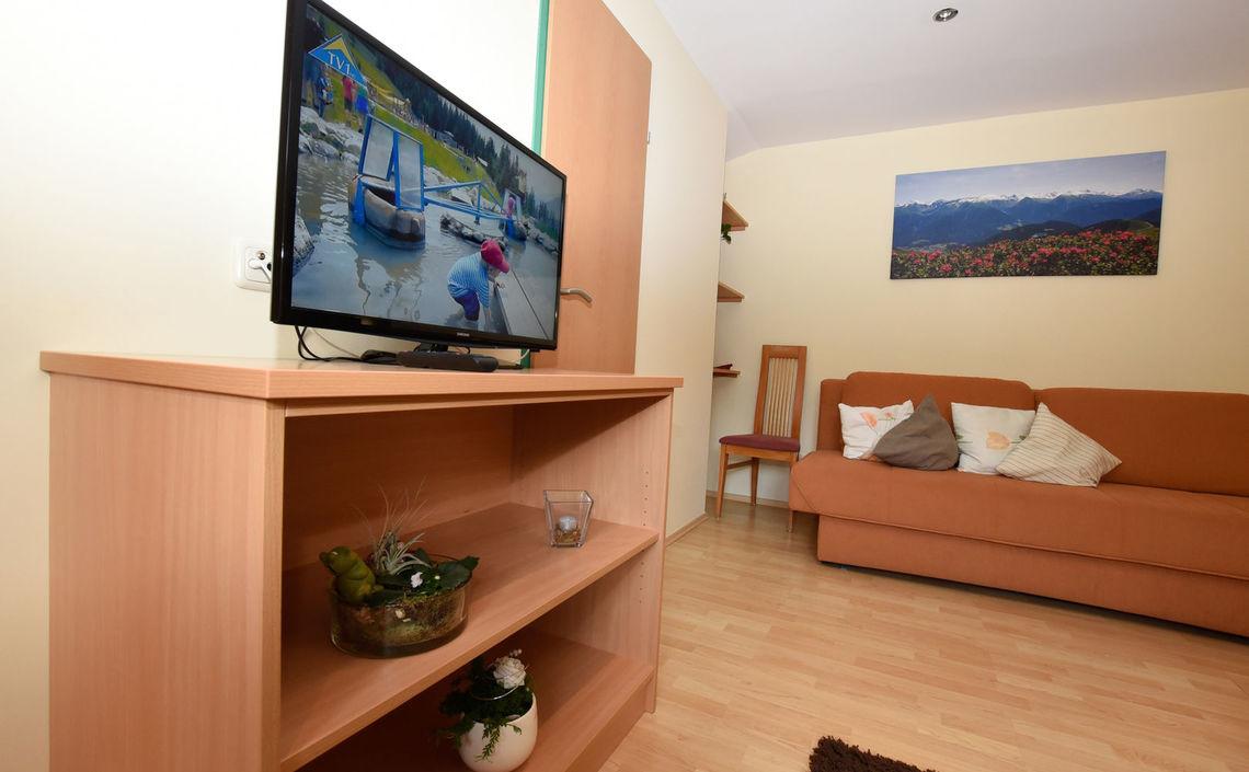 Couch und TV