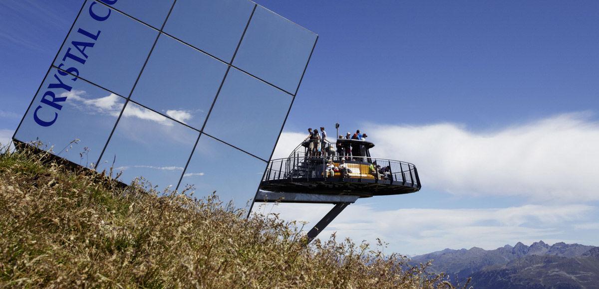 Viewing platform Cube